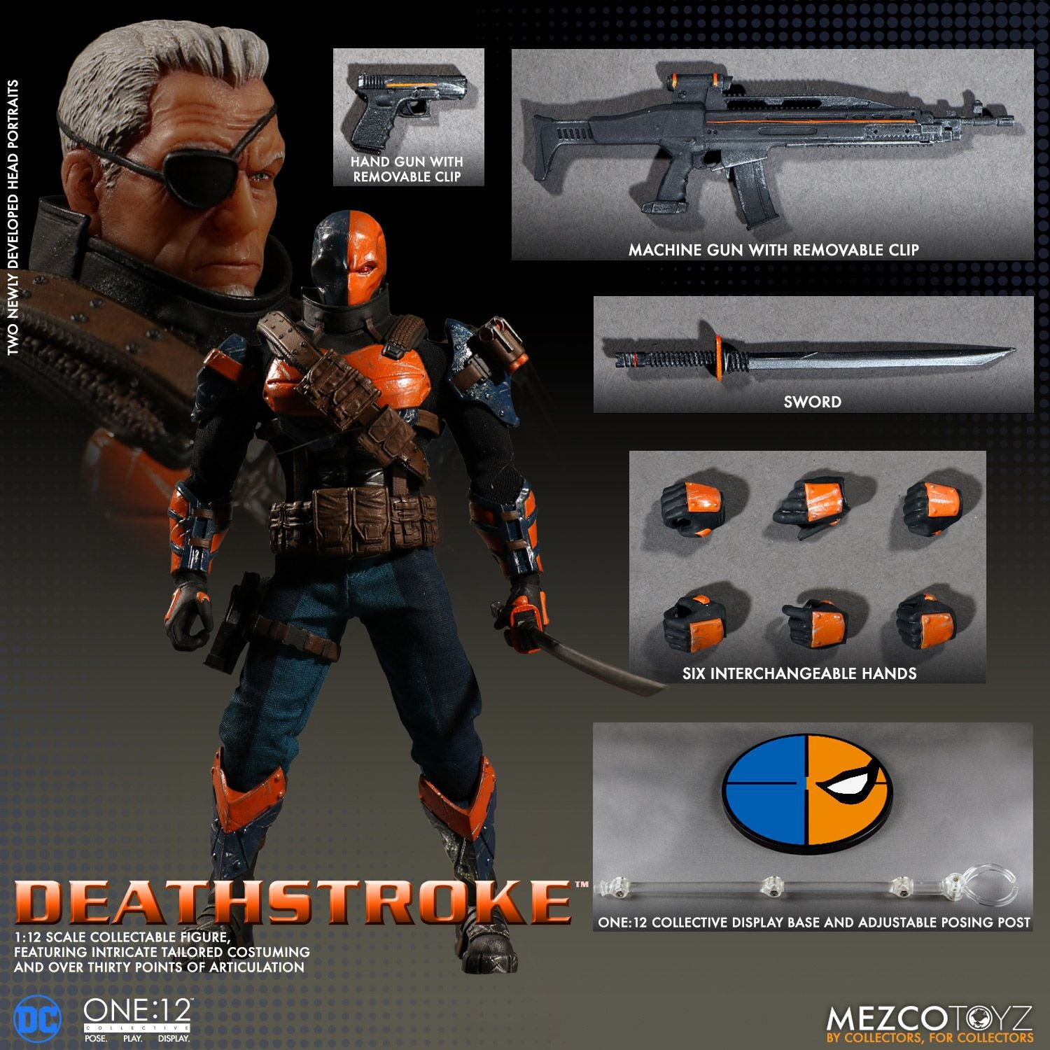 Mezco - One:12 Collective - Deathstroke - Marvelous Toys - 9