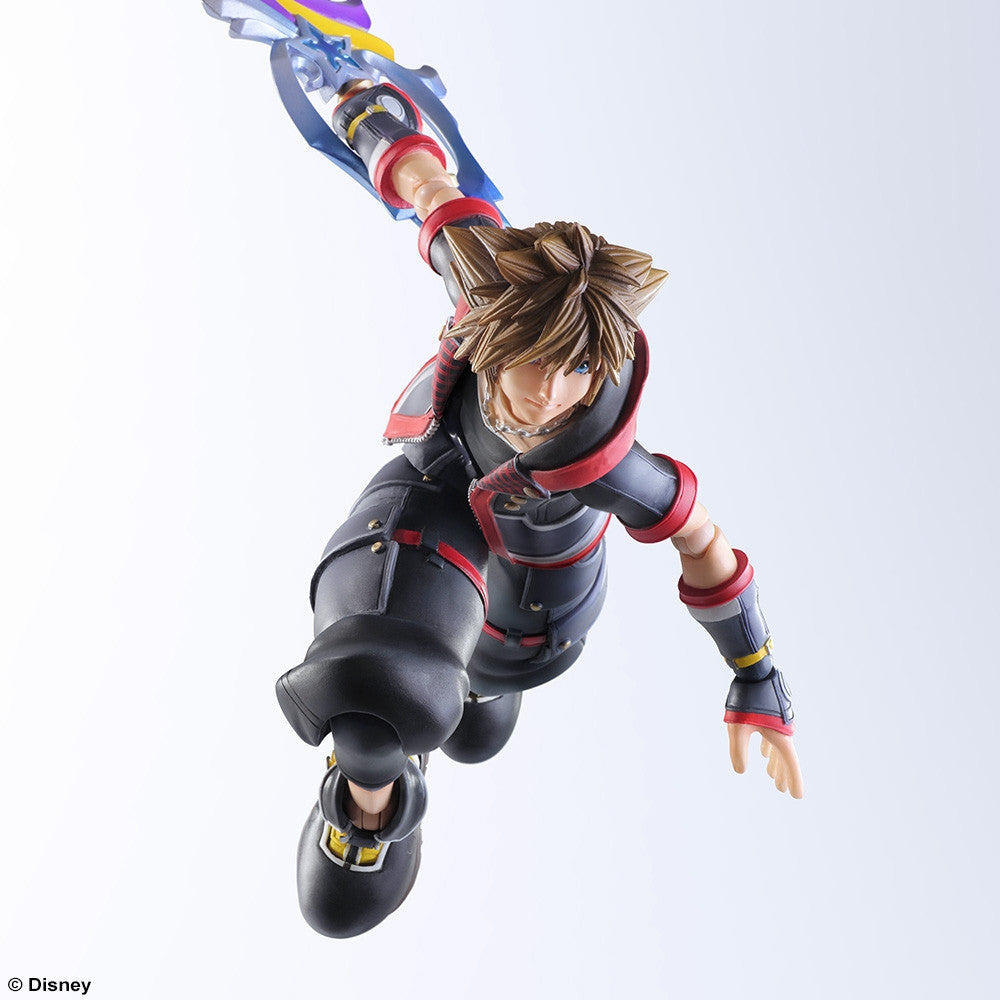 Play Arts Kai - Kingdom Hearts III - Sora - Marvelous Toys - 6