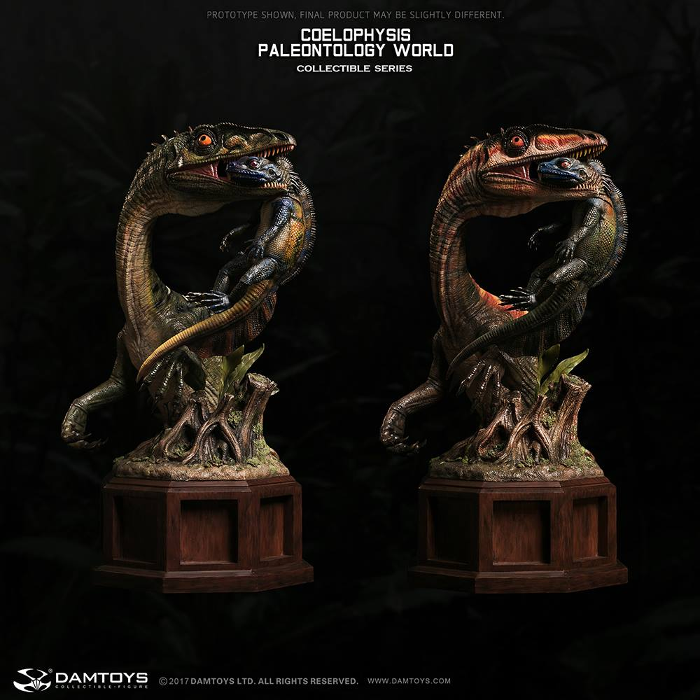Dam Toys - Museum Collection Series - Paleontology World - Coelophysis (MUS008A)