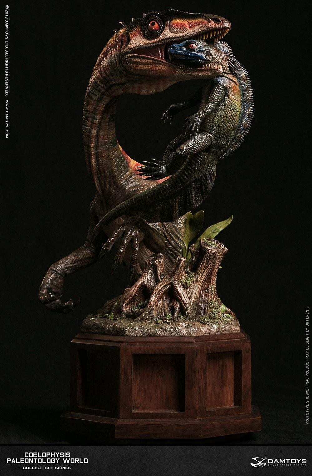 Dam Toys - Museum Collection Series - Paleontology World - Coelophysis (MUS008B)