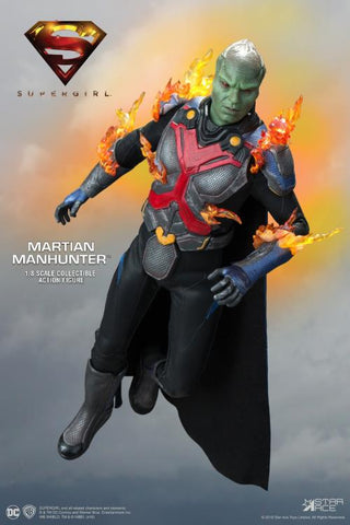 Star Ace Toys - Supergirl - Martian Manhunter (J'onn J'onzz) (Deluxe) (1/8 Scale)