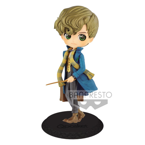 Banpresto - Q Posket - Fantastic Beasts and Where to Find Them - Newt Scamander (Pastel Color)