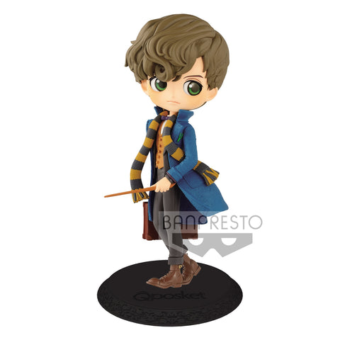 Banpresto - Q Posket - Fantastic Beasts and Where to Find Them - Newt Scamander (Normal Color)