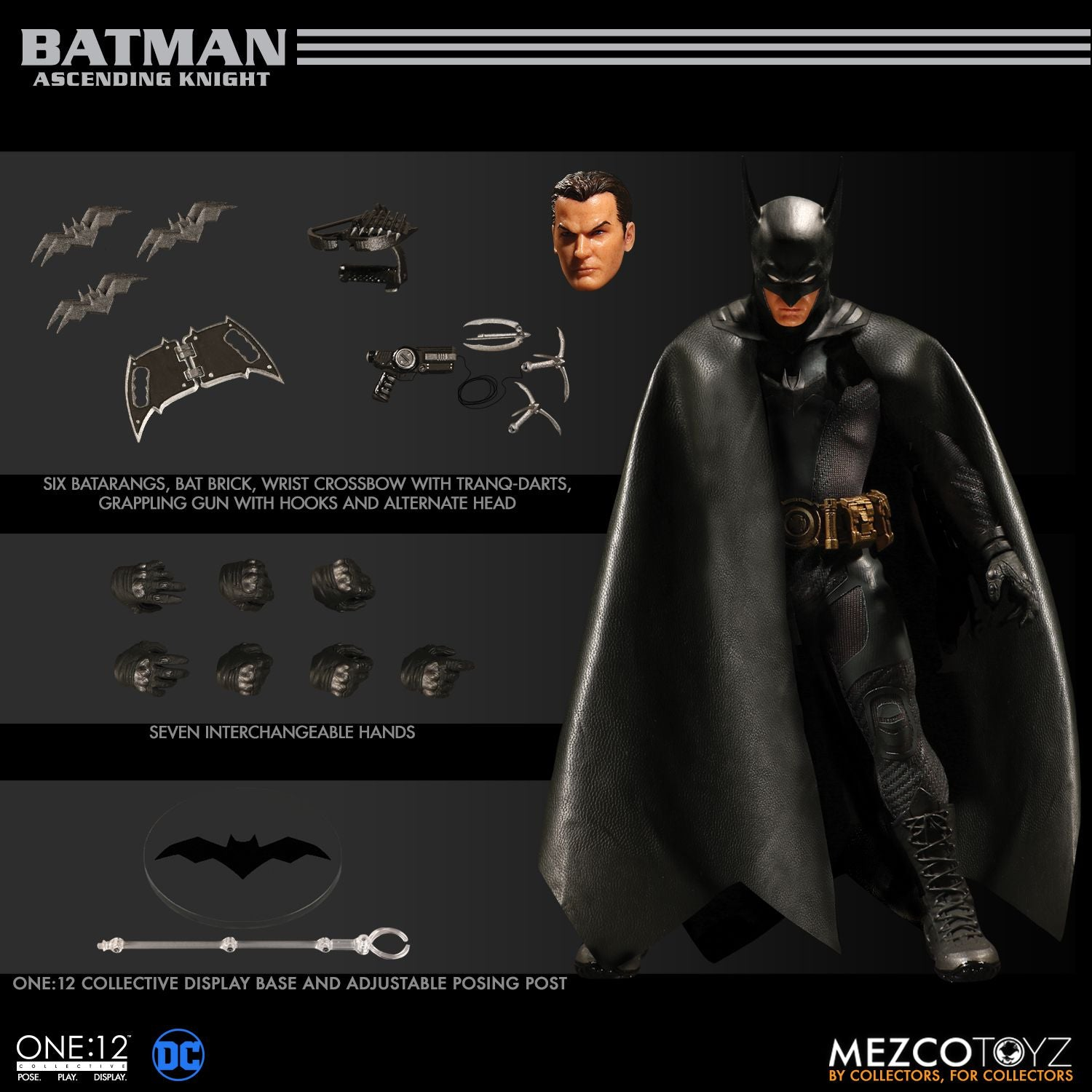 Mezco - One:12 Collective - Batman: Ascending Knight