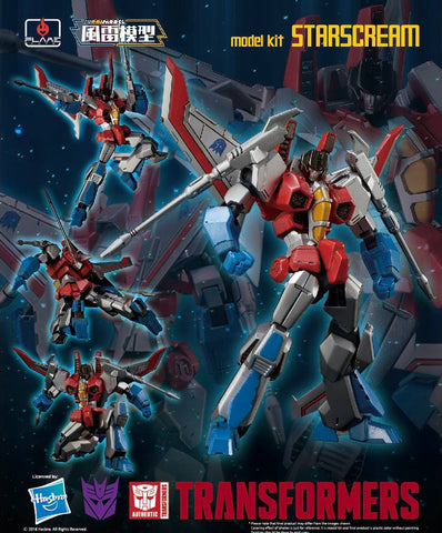 Flame Toys - Transformers - Furai Model 02 - Starscream (Model Kit) (Reissue)