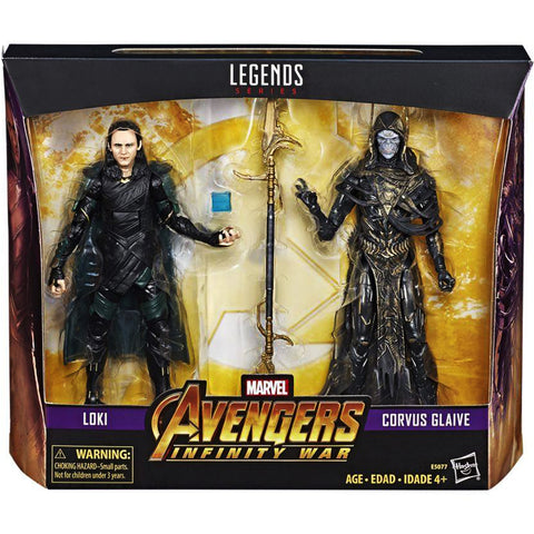 Hasbro - Marvel Legends - Avengers: Infinity War - Loki and Corvus Glaive