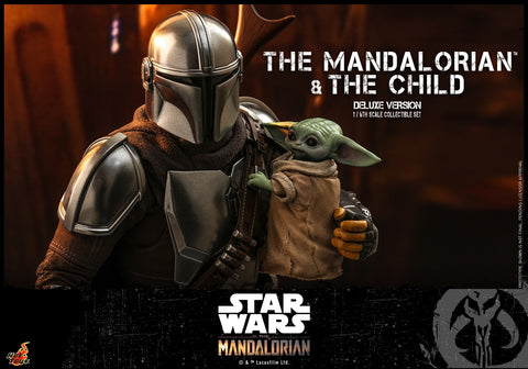 Hot Toys - TMS015 - Star Wars: The Mandalorian - The Mandalorian & The Child (Deluxe)