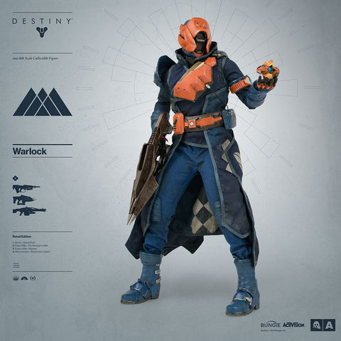 3A - Destiny - Warlock (Retail Edition) - Marvelous Toys - 1