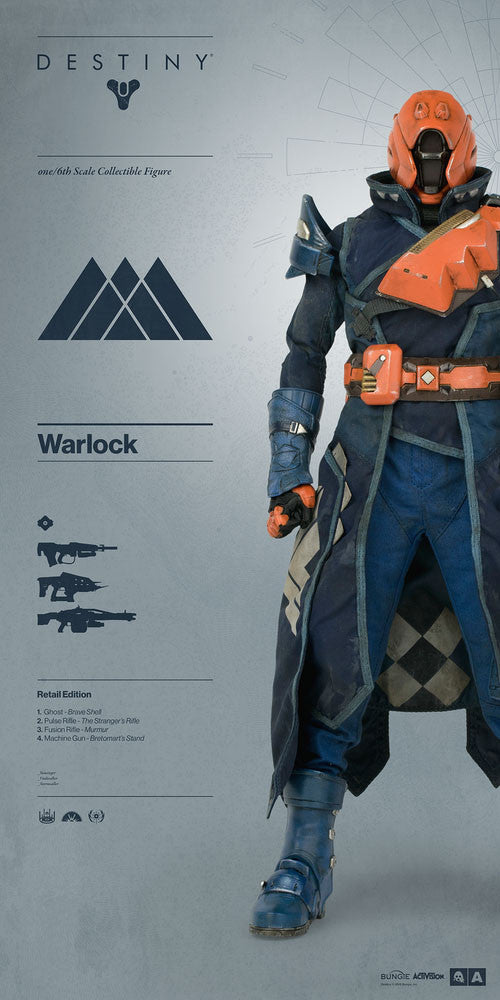 3A - Destiny - Warlock (Retail Edition) - Marvelous Toys - 2
