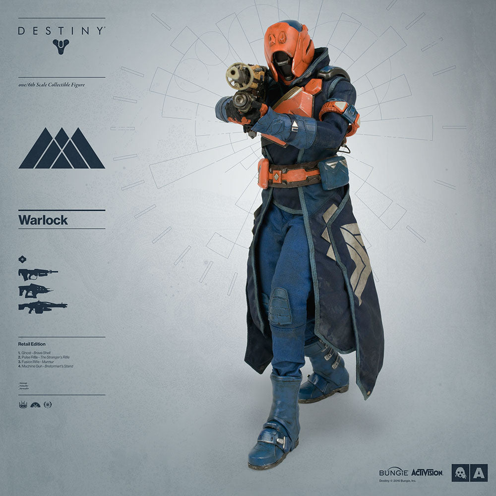 3A - Destiny - Warlock (Retail Edition) - Marvelous Toys - 3