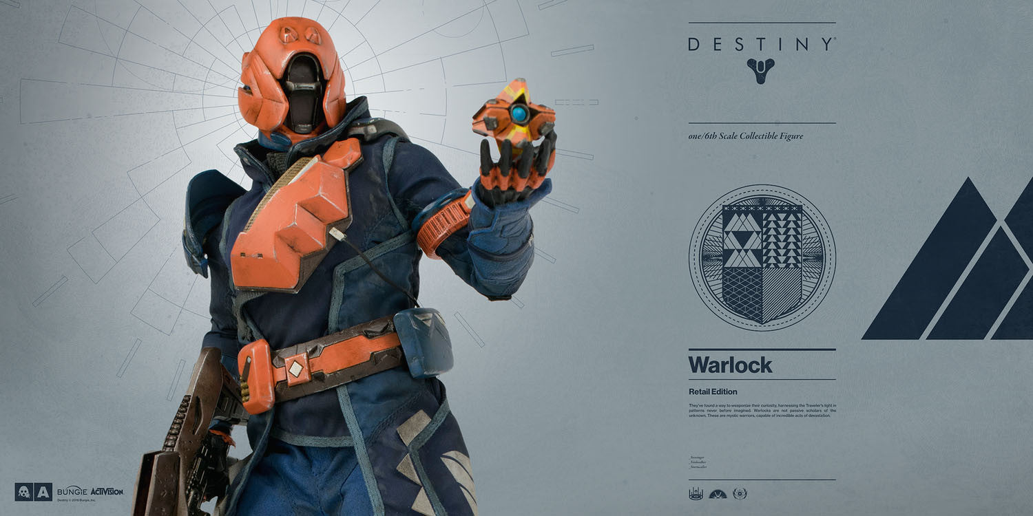 3A - Destiny - Warlock (Retail Edition) - Marvelous Toys - 4
