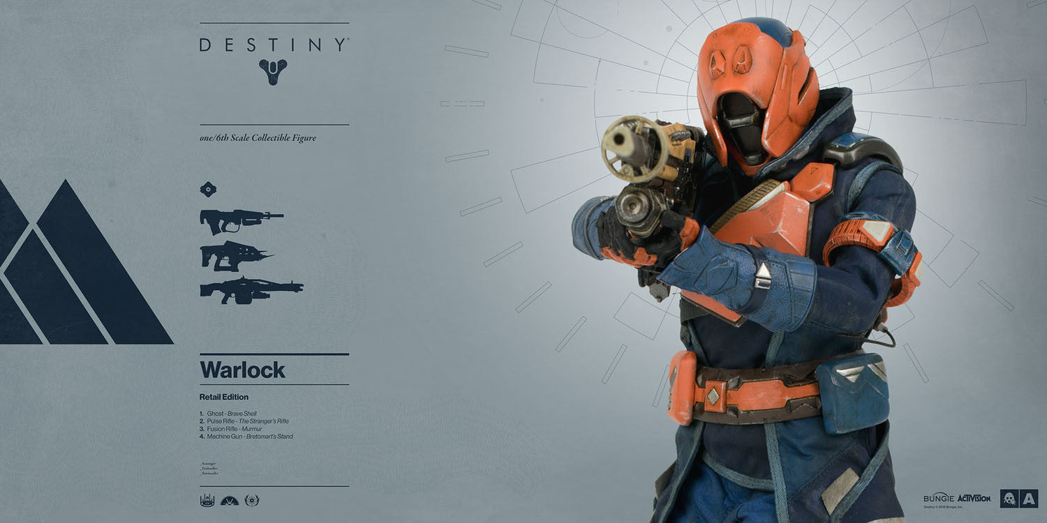 3A - Destiny - Warlock (Retail Edition) - Marvelous Toys - 5