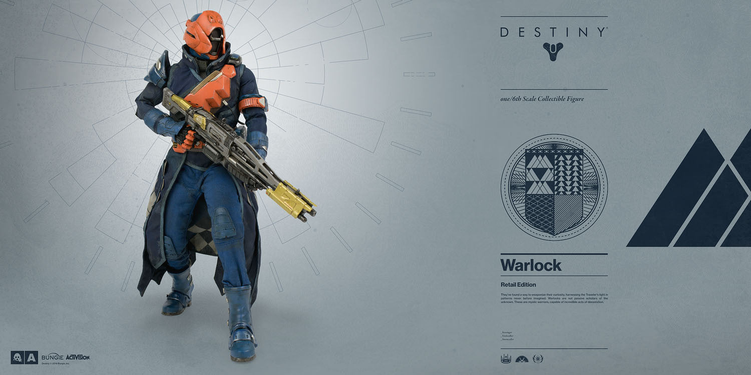 3A - Destiny - Warlock (Retail Edition) - Marvelous Toys - 6