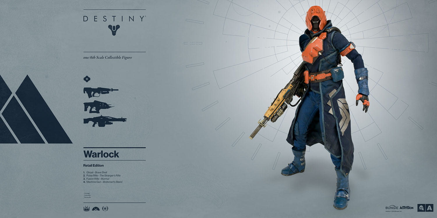 3A - Destiny - Warlock (Retail Edition) - Marvelous Toys - 7