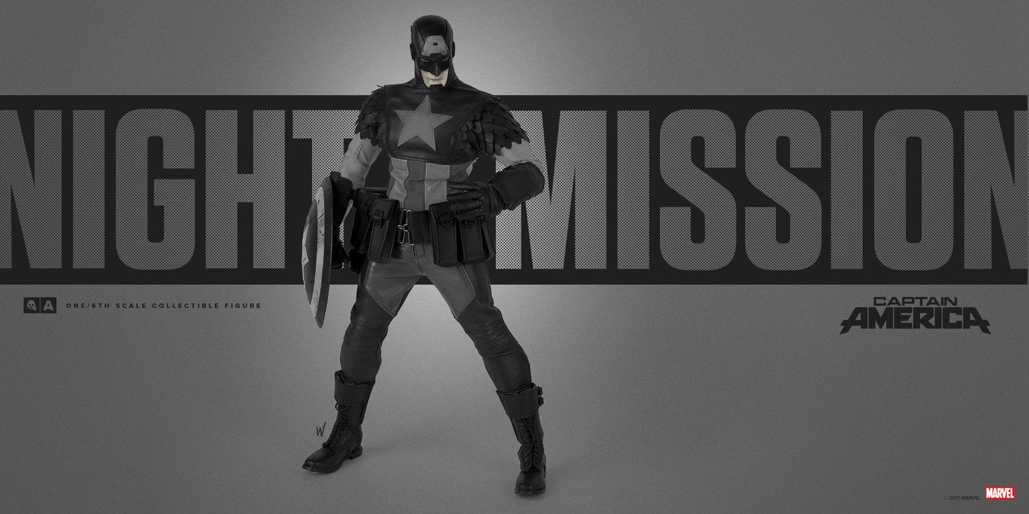 ThreeA x Marvel - Night Mission Captain America