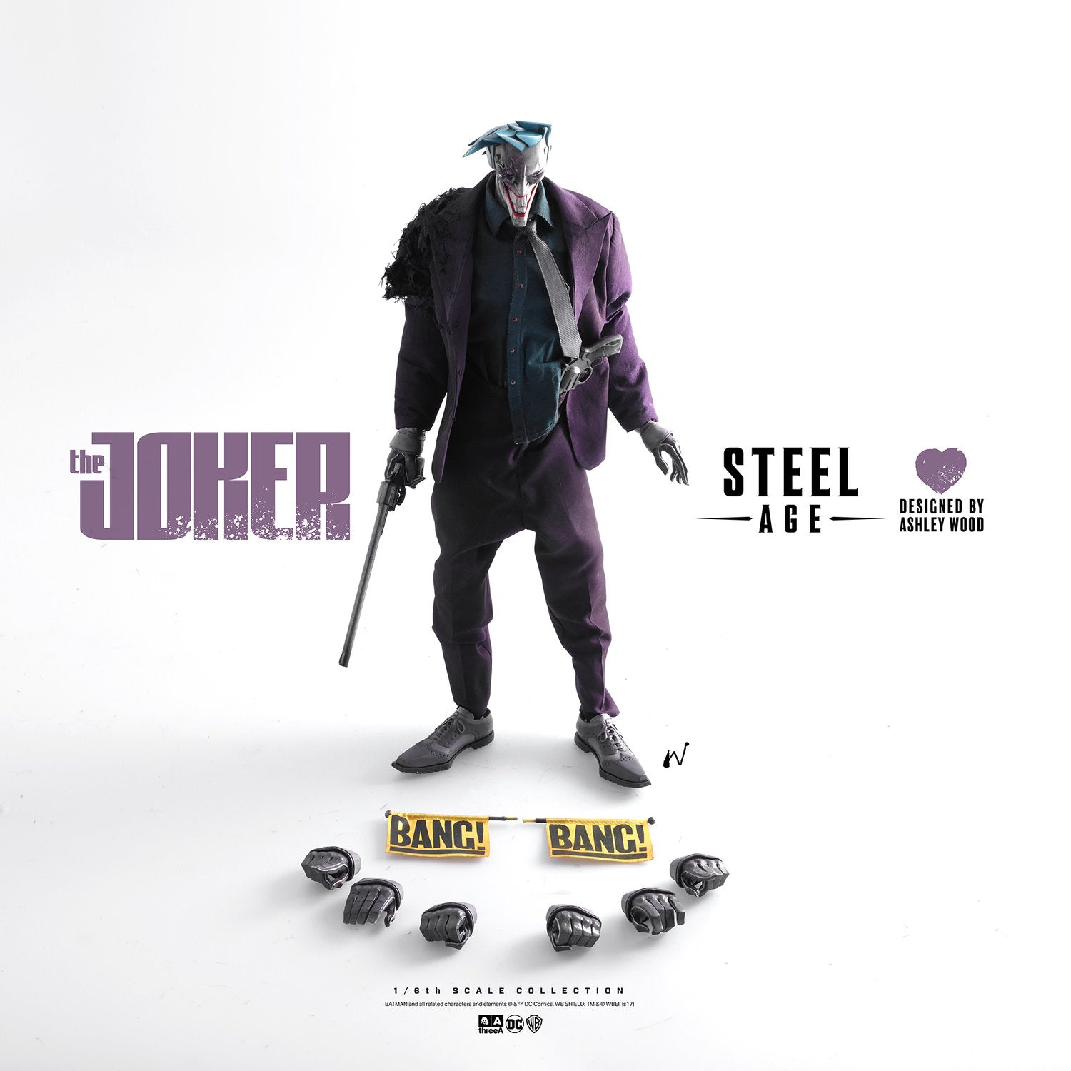 ThreeA - DC Comics - Steel Age Joker