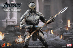 (IN STOCK) Hot Toys - MMS228 - The Avengers - Chitauri Commander and Footsoldier Set
