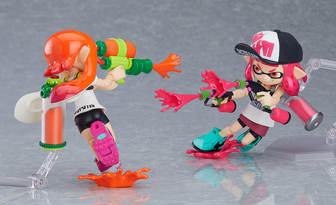 figma - 400-DX - Splatoon - Inkling Girls (Two-Pack DX Edition)