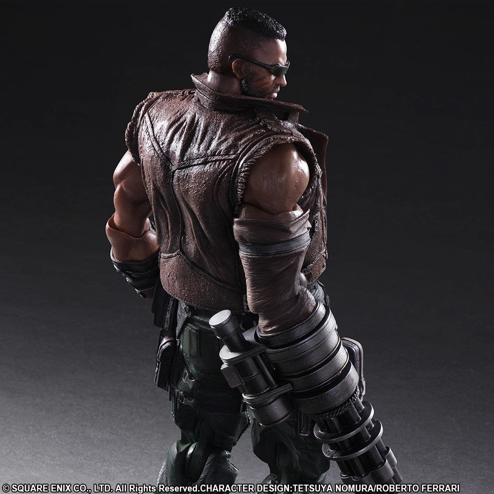 Play Arts Kai - Final Fantasy VII Remake - Barret Wallace - Marvelous Toys - 3