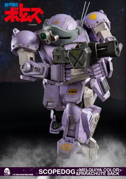 ThreeZero - Armored Trooper Votoms - Scopedog (Melquiya Color) and Parachute Sack (1/12 Scale)