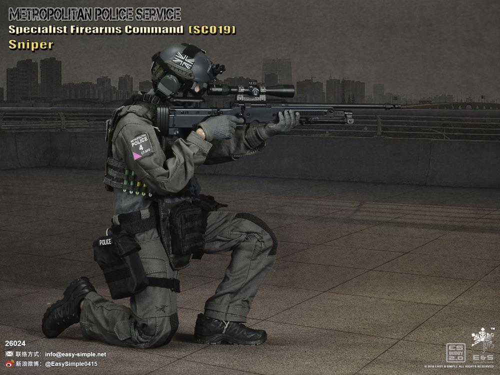 Easy & Simple - 26024 - British Specialist Firearms Command - SCO19 Sniper