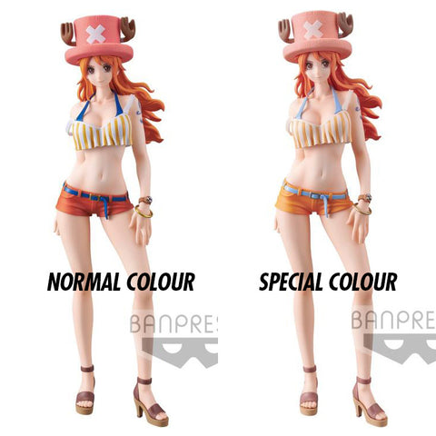 Banpresto - One Piece - Sweet Style Pirates - Nami (Set of 2) (Normal and Special Colour)