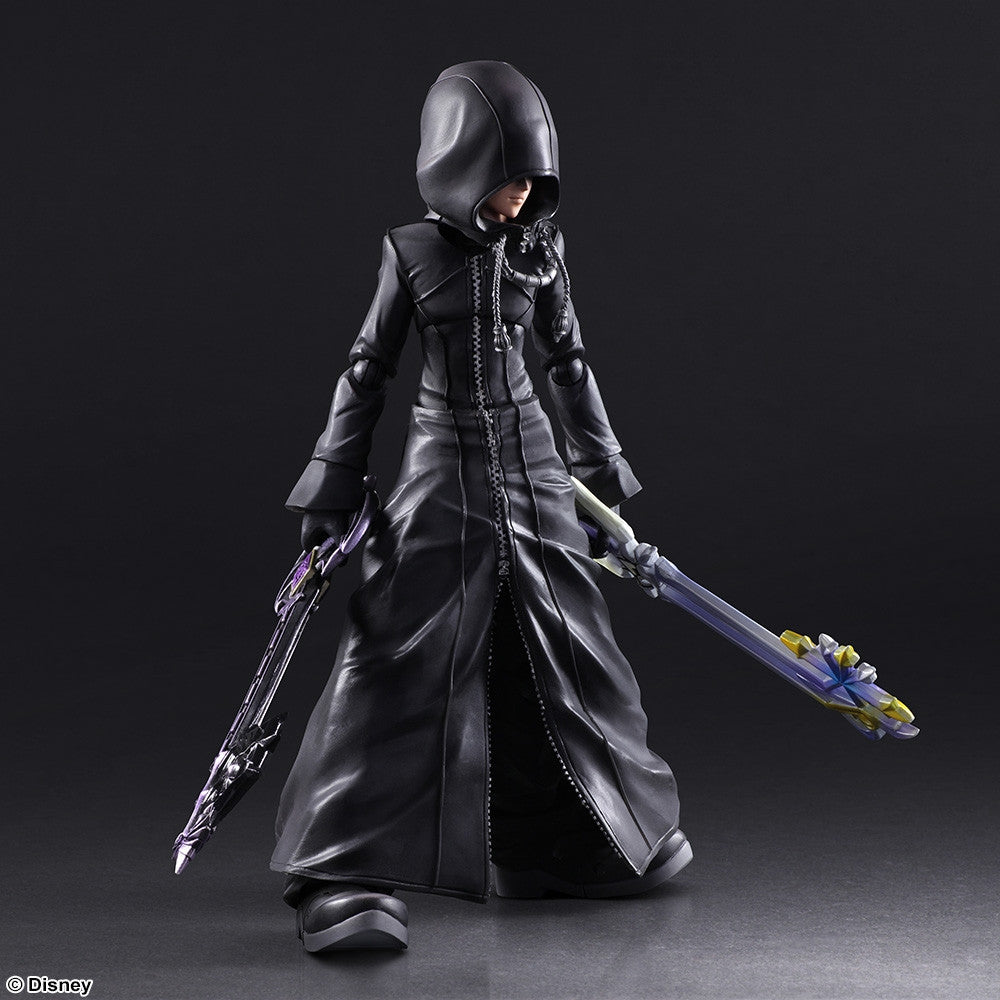 Play Arts Kai - Kingdom Hearts II - Roxas - Organization XIII Ver. - Marvelous Toys - 3