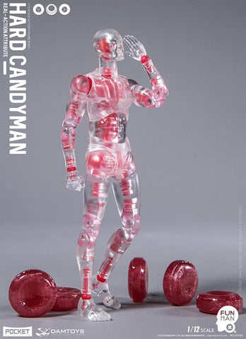 Damtoys - Pocket Elite Series - DPS04 - Real-Action Attribute - Hard Candyman (1/12 Scale)