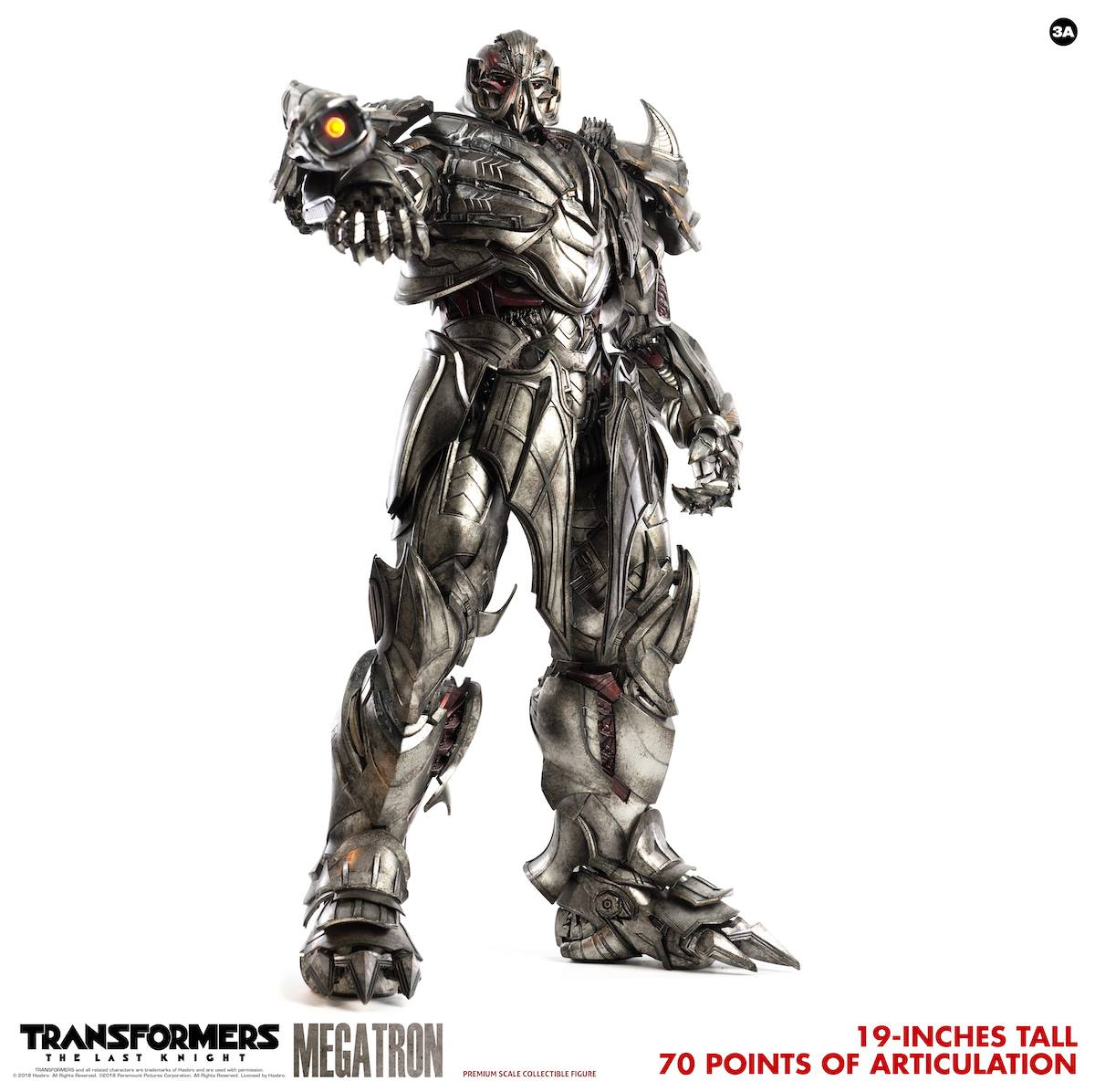 ThreeA - Premium Scale Collectible Series - Transformers: The Last Knight - Megatron (Standard)