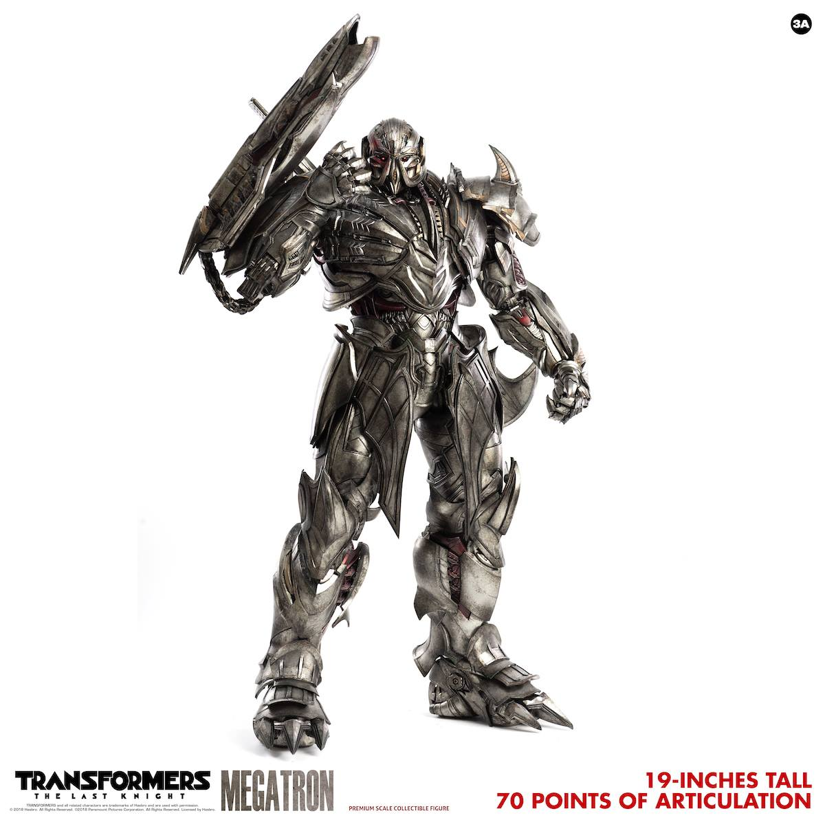ThreeA - Premium Scale Collectible Series - Transformers: The Last Knight - Megatron (Deluxe)