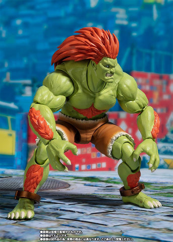 S.H.Figuarts - Street Fighter - Blanka (TamashiiWeb Exclusive)