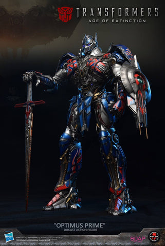Soldier Story x Soap Studio - Transformers: Age of Extinction - Optimus Prime Diecast Action Figure