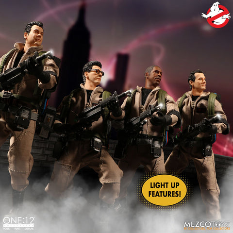 Mezco - One:12 Collective - Ghostbusters Deluxe Box Set