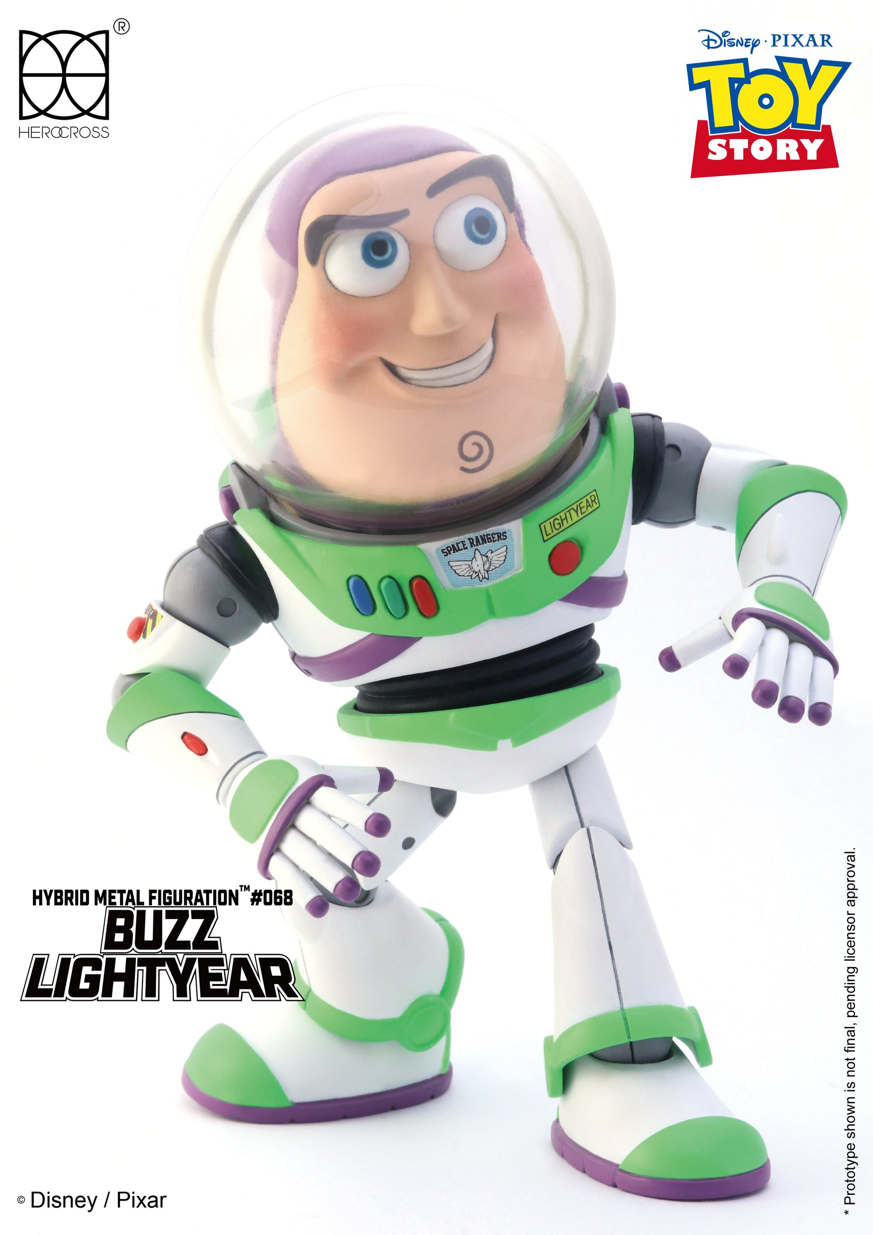 Herocross - Hybrid Metal Figuration - HMF068 - Toy Story - Buzz Lightyear