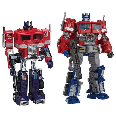 TakaraTomy - Transformers 35th Anniversary - Convoy and Optimus Prime Set (TakaraTomy Mall Exclusive)