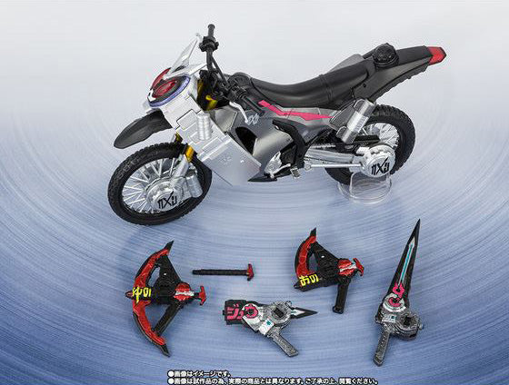 S.H.Figuarts - Kamen Masked Rider - Ride Striker with Zikan Girade and Zikan Zax Set (TamashiiWeb Exclusive)