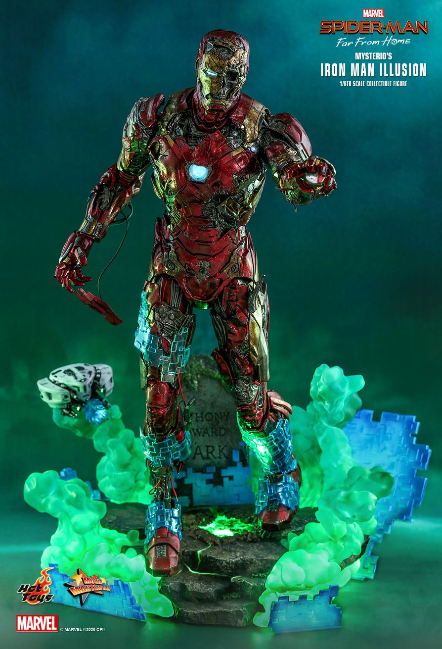 Hot Toys - MMS580 - Spider-Man: Far From Home - Mysterio's Iron Man Illusion