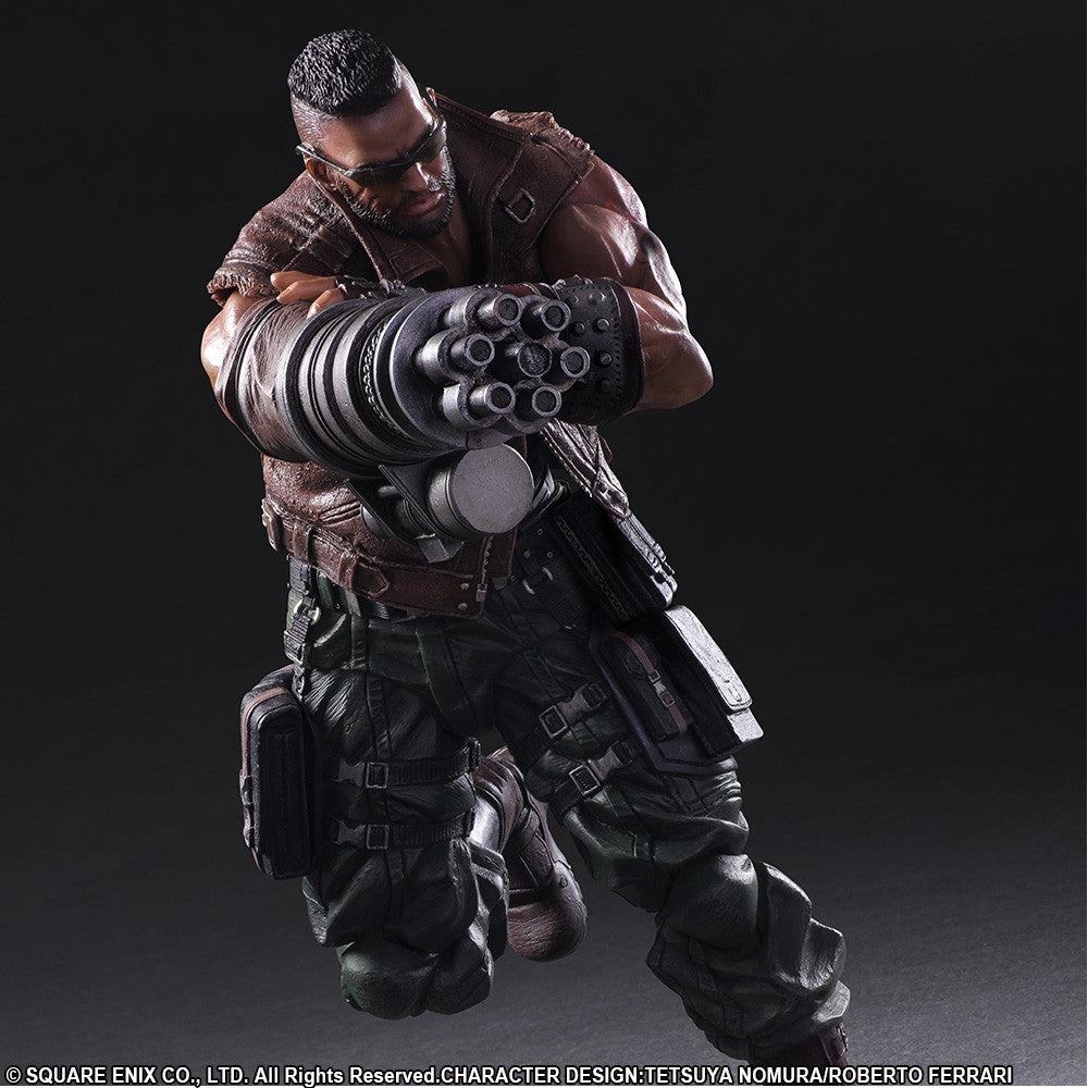 Play Arts Kai - Final Fantasy VII Remake - Barret Wallace - Marvelous Toys - 5