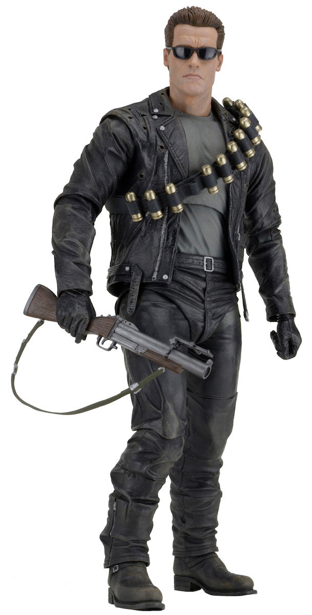 Neca - Terminator 2: Judgment Day - 1/4th Scale Figure - T-800 Arnold - Marvelous Toys - 8
