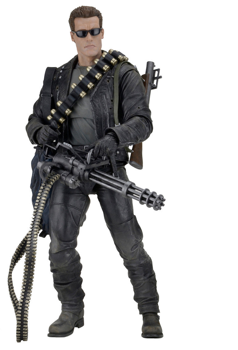 Neca - Terminator 2: Judgment Day - 1/4th Scale Figure - T-800 Arnold - Marvelous Toys - 7