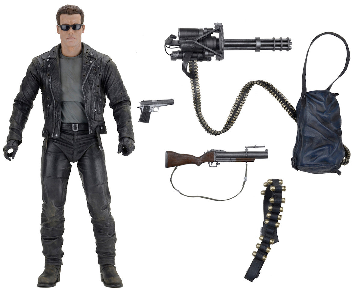 Neca - Terminator 2: Judgment Day - 1/4th Scale Figure - T-800 Arnold - Marvelous Toys - 10