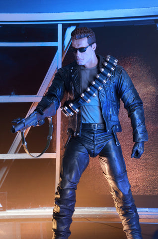 Neca - Terminator 2: Judgment Day - 1/4th Scale Figure - T-800 Arnold - Marvelous Toys - 2