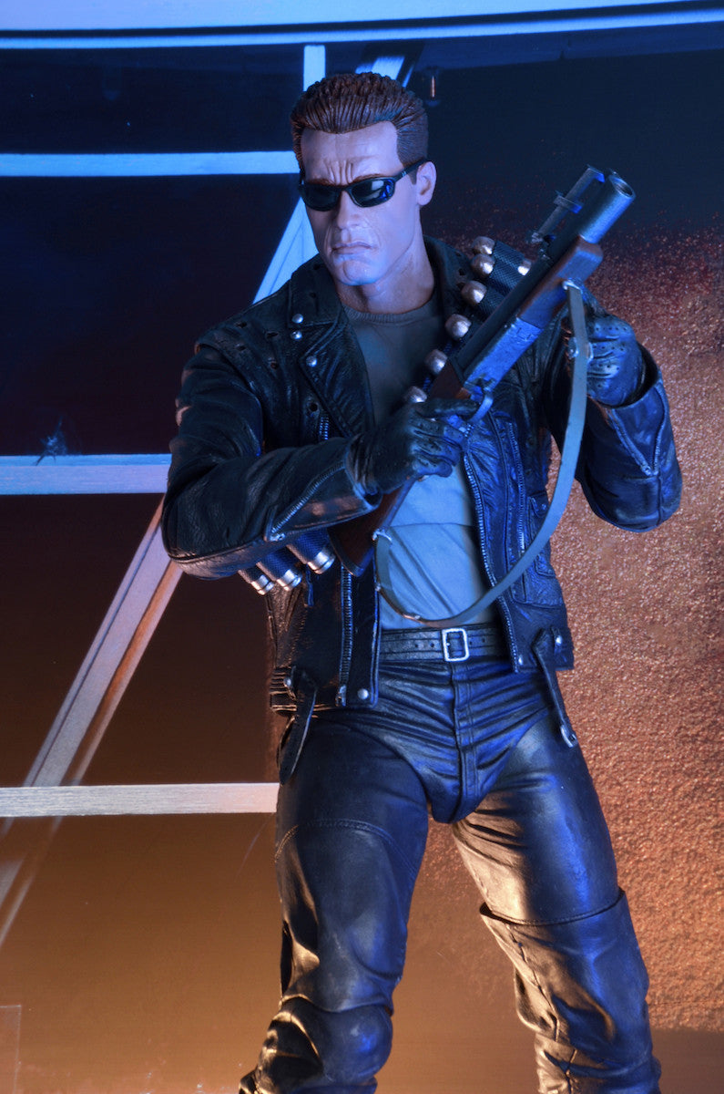 Neca - Terminator 2: Judgment Day - 1/4th Scale Figure - T-800 Arnold - Marvelous Toys - 4