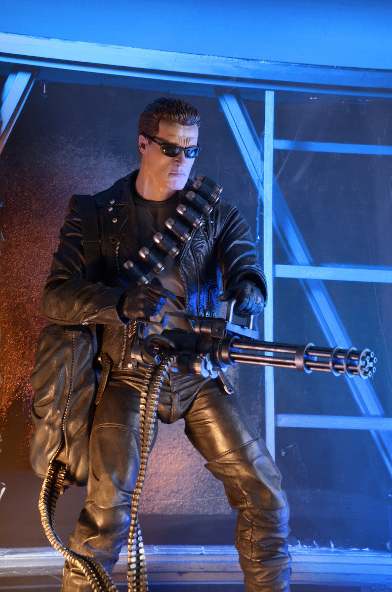 Neca - Terminator 2: Judgment Day - 1/4th Scale Figure - T-800 Arnold - Marvelous Toys - 1