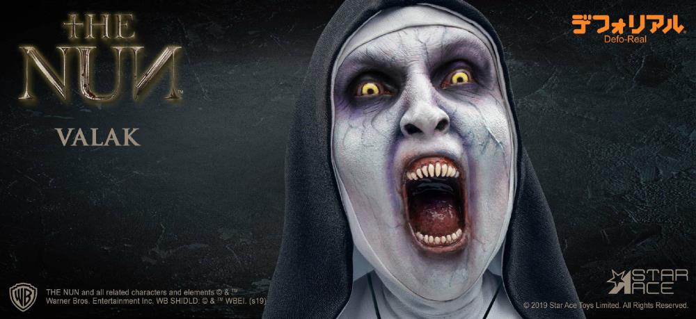 Star Ace Toys - Defo-Real - The Conjuring: The Nun - Valak (Open Mouth) (DX)