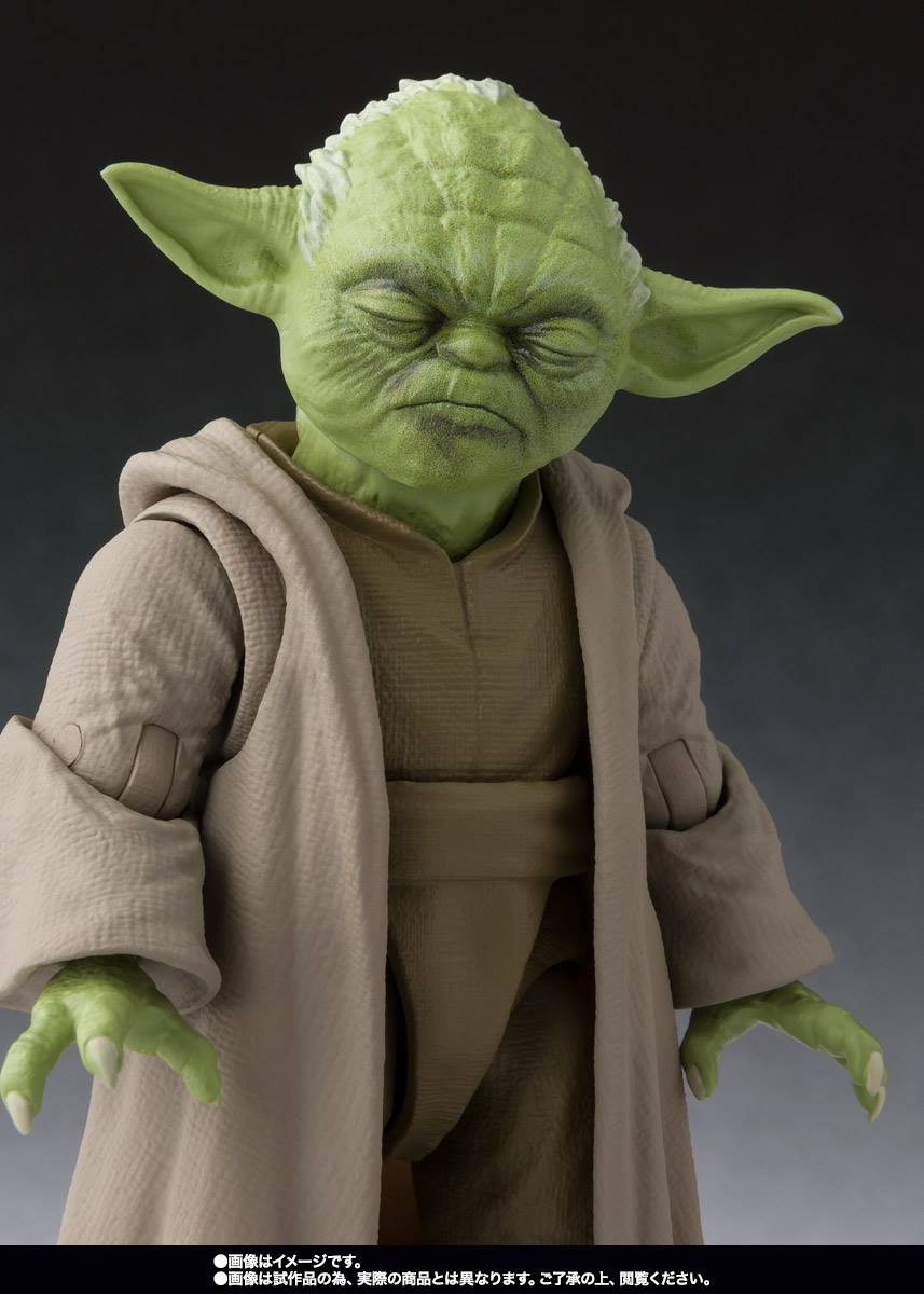S.H.Figuarts - Star Wars: Revenge of the Sith - Yoda (TamashiiWeb Exclusive)
