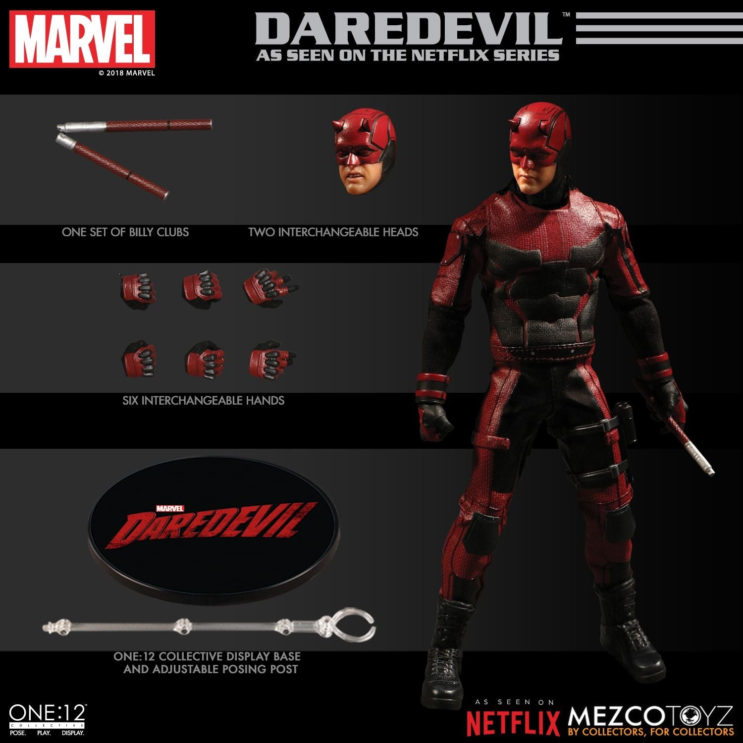 Mezco - One:12 Collective - Marvel - Daredevil