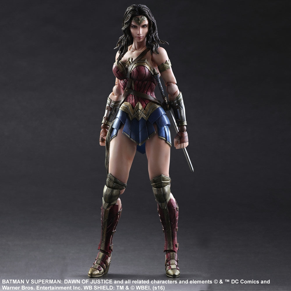 (IN STOCK) Play Arts Kai - Batman v Superman: Dawn of Justice - Wonder Woman - Marvelous Toys - 3