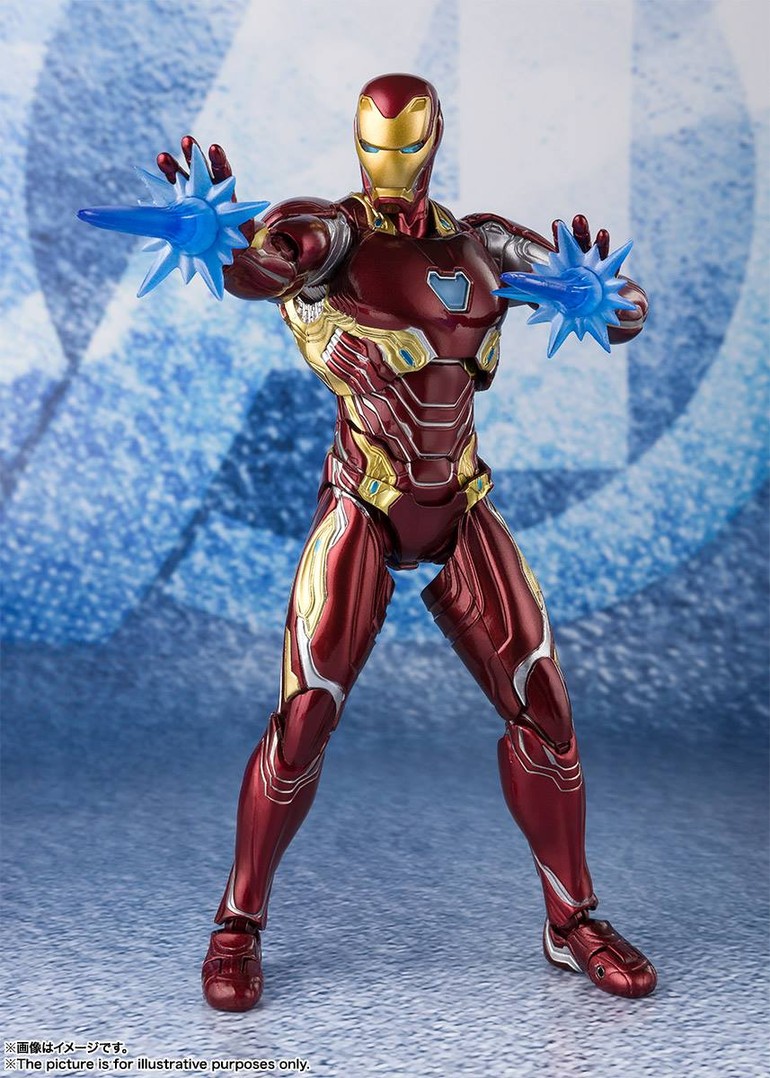 S.H.Figuarts - Avengers: Endgame - Iron Man Mark 50 with Nano Weapon Set 2
