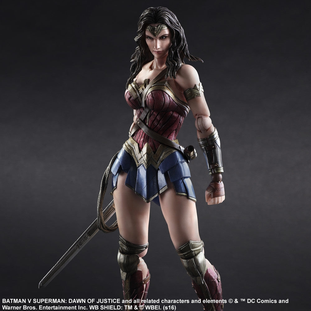 (IN STOCK) Play Arts Kai - Batman v Superman: Dawn of Justice - Wonder Woman - Marvelous Toys - 4